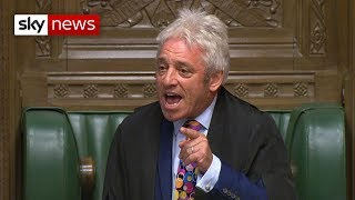 John Bercow to resign as Commons speaker