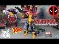 Marvel Legends X-MEN SHIRT DEADPOOL / MADCAP Wave 2 Sauron BAF Figure Review