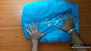 Skybags POGO-EXTRA-03-CORAL 25L Backpack with rain cover(Orange) review and water resistance check