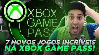 7 NOVOS JOGOS INCRÍVEIS NA XBOX GAME PASS! - MINUTO XBOX #XBOXBR