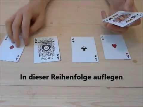 Karten Zaubertricks Für Anfänger