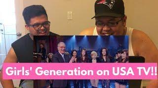 Video [Kpop] Girls' Generation/SNSD - David Letterman The Boys REACTION!!! download MP3, 3GP, MP4, WEBM, AVI, FLV Desember 2017