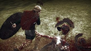 Total War ROME 2(Моды) кровавые анимации (часть1)