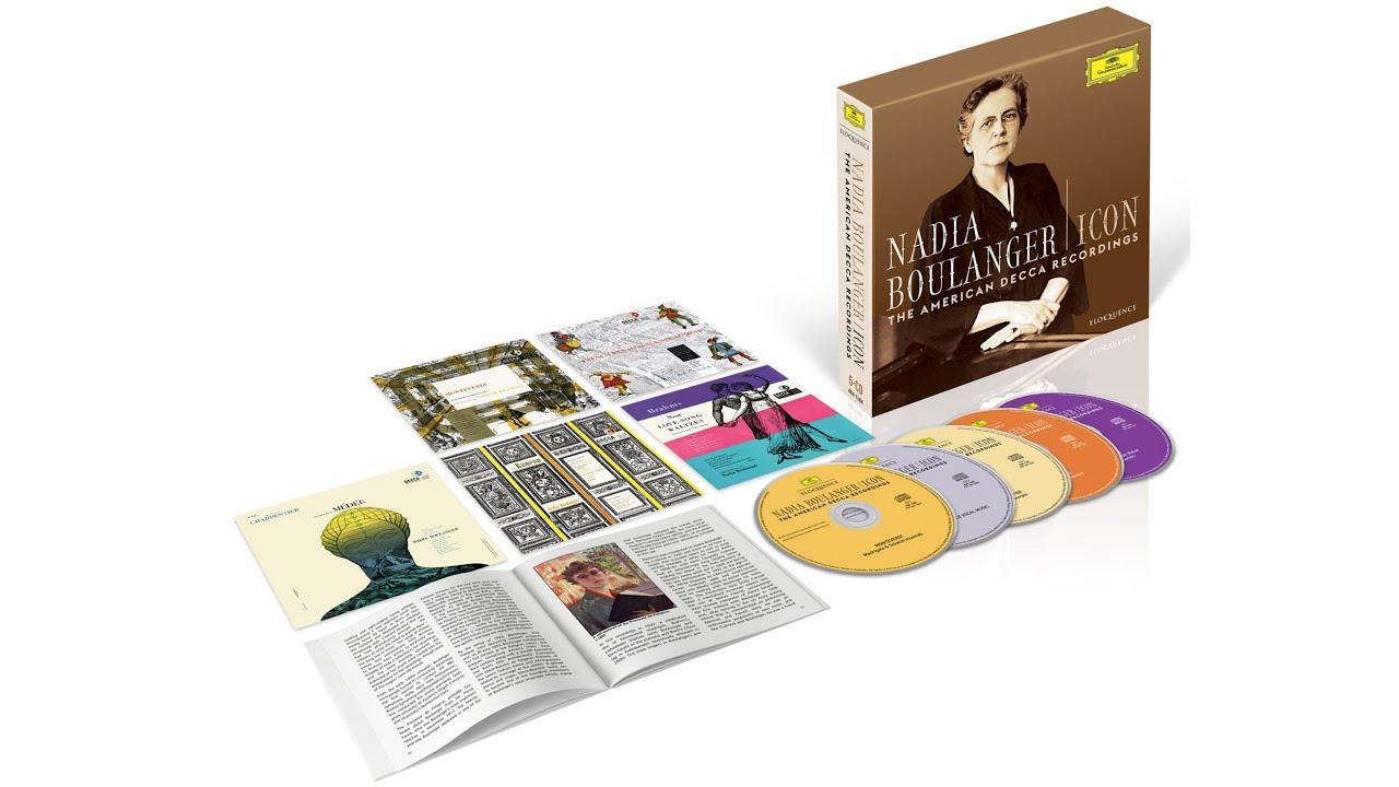 Eloquence Classics Release Batch 7 – Nadia Boulanger