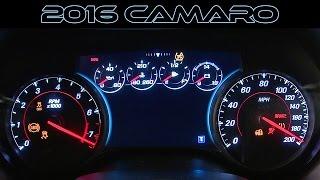 2016 chevrolet camaro ss - rs generation 6 | interior design