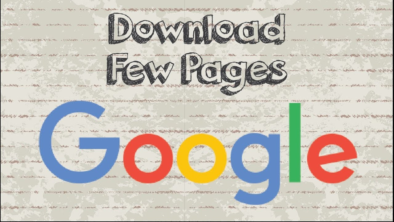 How to download google books in pdf for free?
