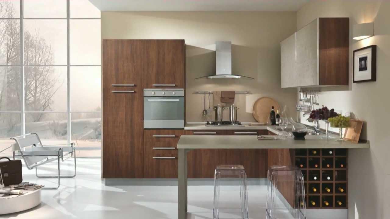 Arredamento cucina in stile moderno velvet by claris for Arredamento moderno casa
