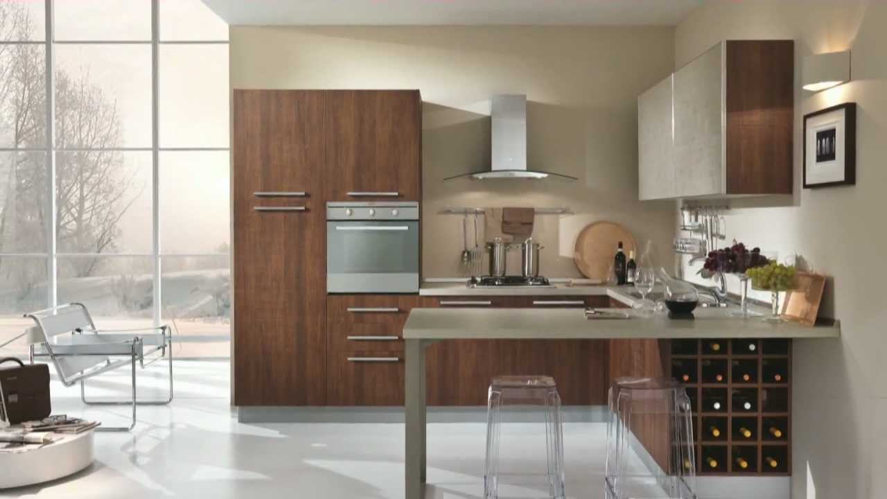 Arredamento cucina in stile moderno velvet by claris for Arredamento casa stile contemporaneo