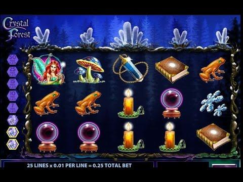 Crystal Forest - Bonus Round - Slots machine