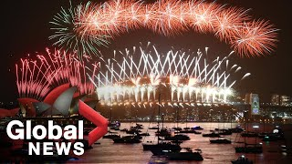 New Year& 39 s 2020 Sydney puts on famous fireworks display FULL