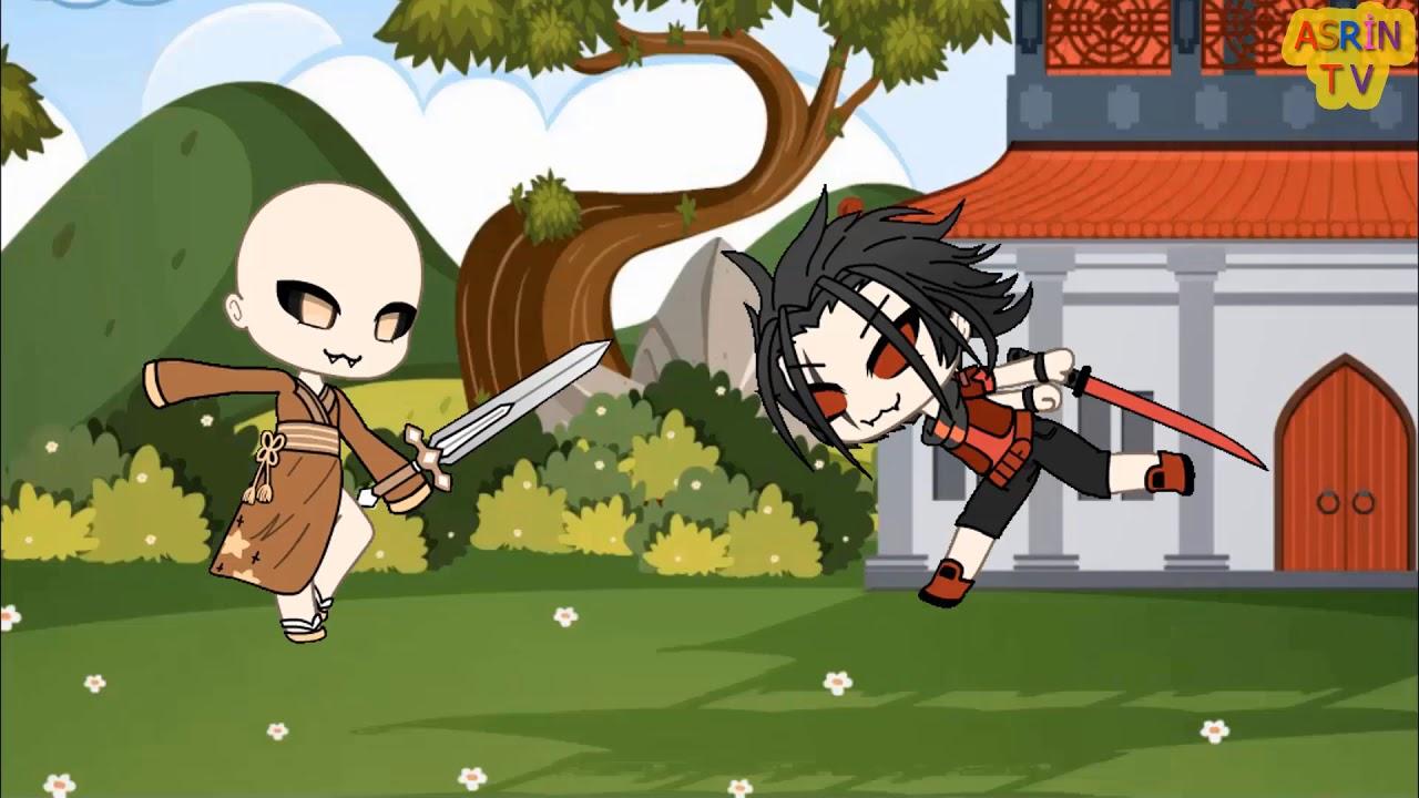 Bir Japon Efsanesi Ninjaların Kapışması Dare Gacha Life Kısa Film Keltoş Babana Koş