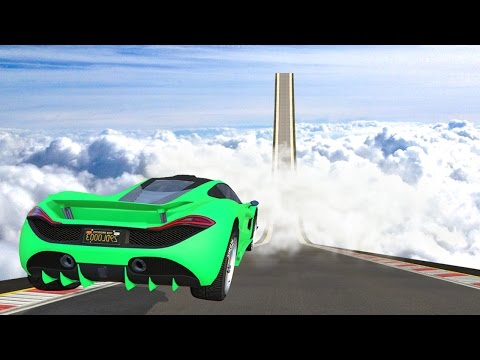 WORLDS BIGGEST GTA RAMP! (GTA 5 Funny Moments)