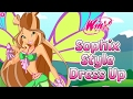 Winx Club Sophix Style Dress Up Game for Girls