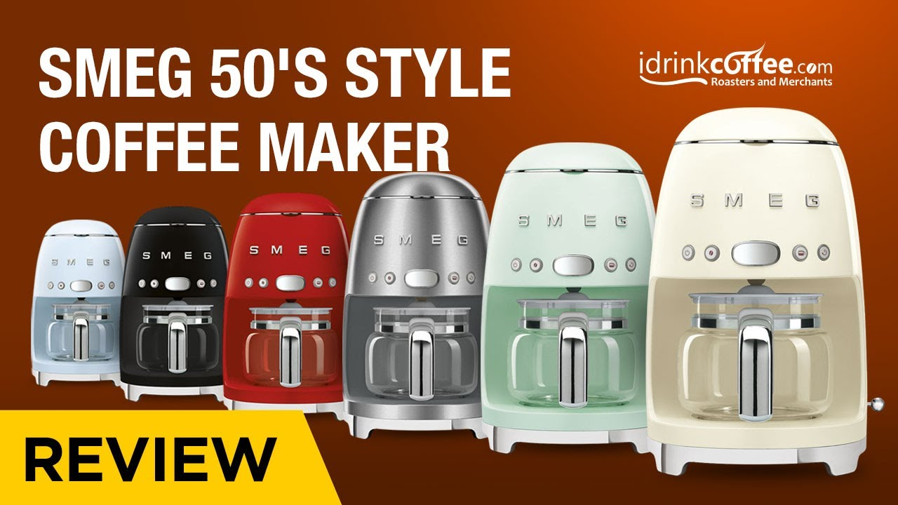Smeg 50 S Style Coffee Maker Preview