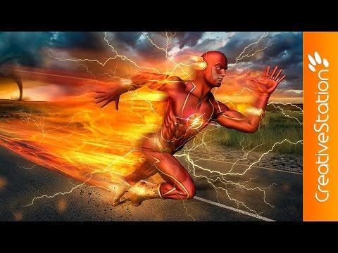 The Flash - 3D Speed Art (#Poser, #Zbrush, #Photoshop) | CreativeStation