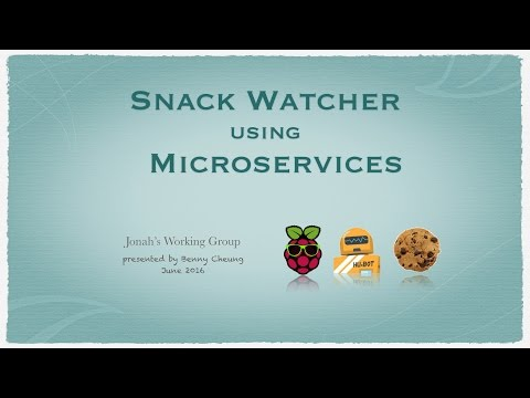 Snack Watcher using Microservices