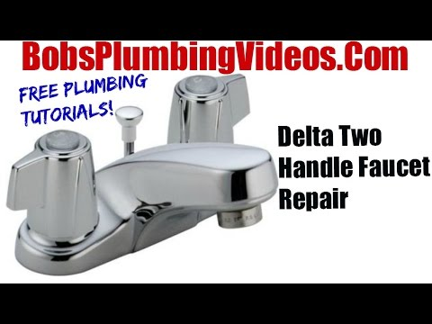 bathtub faucet repairing procedure   How To Replace Delta Style Stems and Seats - Cartridge ...