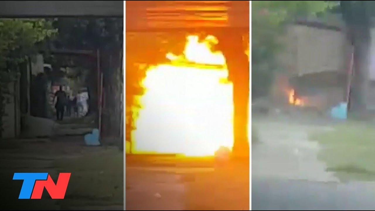 LOCURA EN RAFAEL CALZADA | Un hombre mató a un vecino e hizo explotar su casa con garrafas