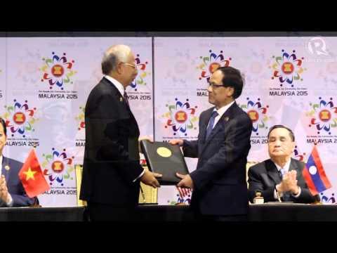 ASEAN leaders launch single market community