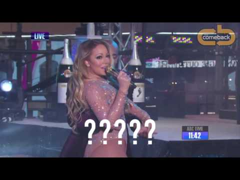 Mariah Carey's AWFUL performance on New Years Eve 2016