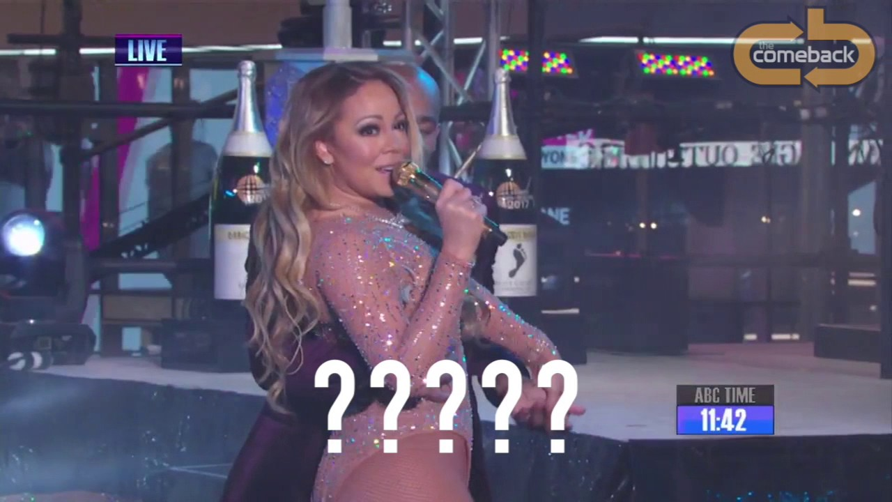 mariah careys awful performance on new years eve 2016