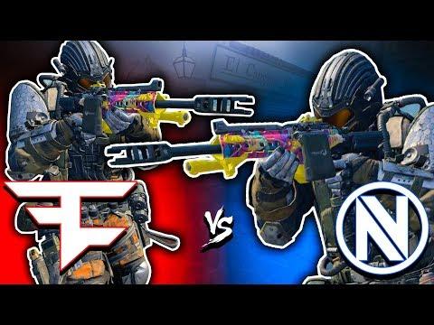 FaZe vs the NEW nV  SND TOURNAMENT FINALS! Black Ops 4