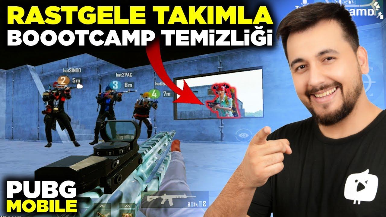 Download RASTGELE TAKIMLA BOOTCAMP TEMİZLİĞİ / PUBG MOBILE