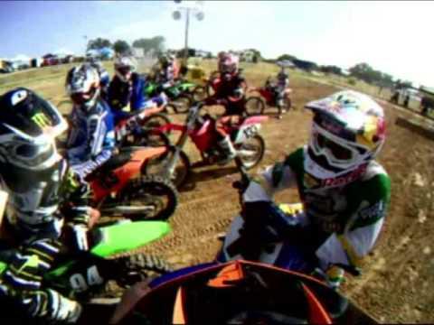 James Stewart Ride Day at Oak Hill MX - - Carter Y...
