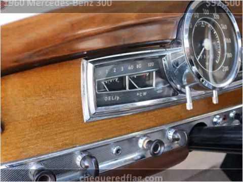 1960 mercedes benz 300 used cars marina del rey ca youtube for Mercedes benz marina del rey