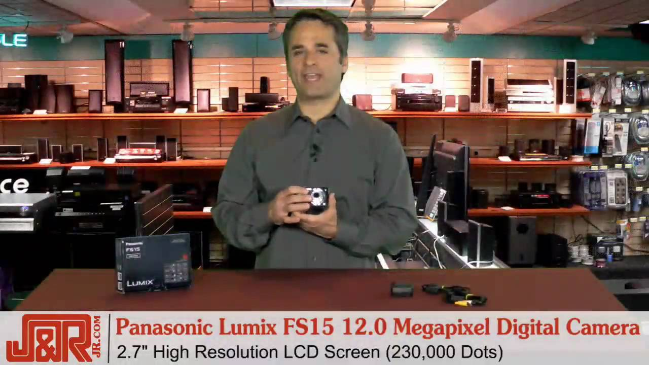 PANASONIC DMC-FS15K DIGITAL CAMERA WINDOWS XP DRIVER DOWNLOAD