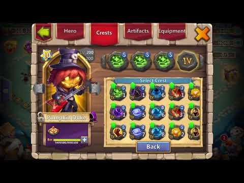Castle Clash : 8/8 Empower Pd Vs 8/8 Regenerate Pd Comparison