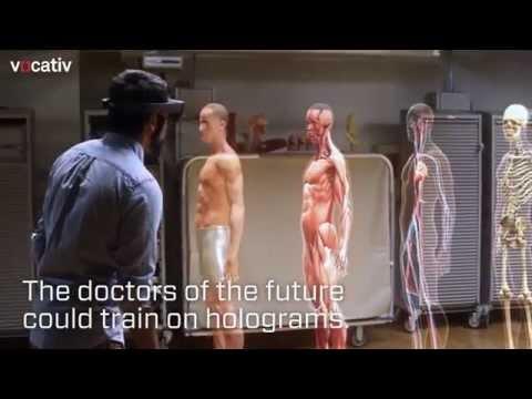 geleceğin doktorları için 3 boyutlu anatomi gözlükleri