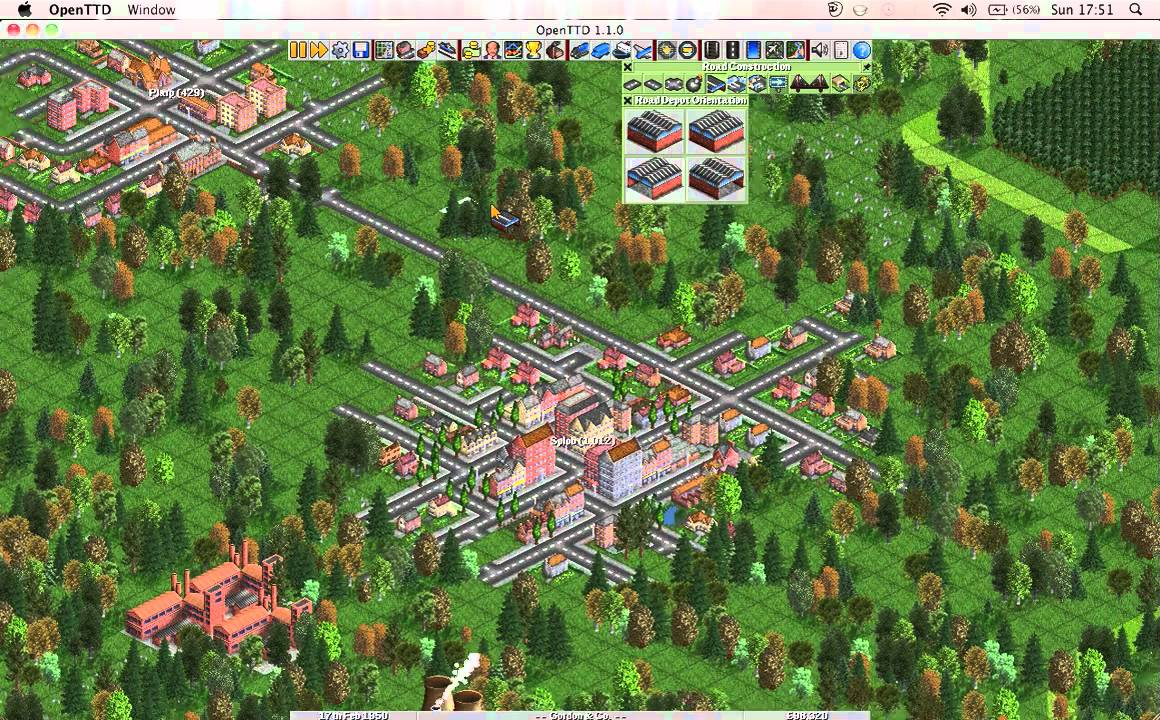 Let's Play! Open Transport Tycoon Deluxe, part one. - YouTube