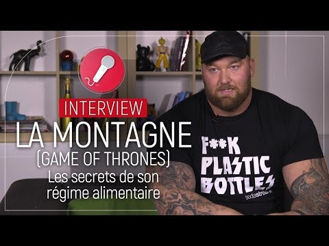 [Interview] Game of Thrones : l'incroyable régime alimentaire de la Montagne