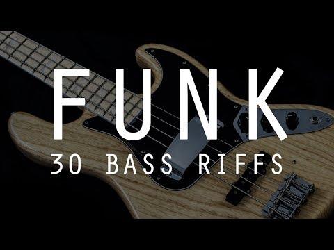 Download Youtube: 30 FUNK BASS RIFFS /// Bruno Tauzin