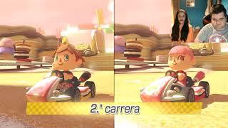 Mario Kart 8 Multiplayer  - Humillacion de mi novia Annie S. 😂