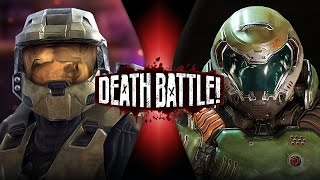 Master Chief VS Doomguy (Halo VS Doom) | DEATH BATTLE! thumbnail