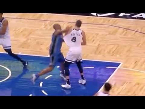 Arron Afflalo, Nemanja Bjelica Ejected Following Fight in Wolves-Magic