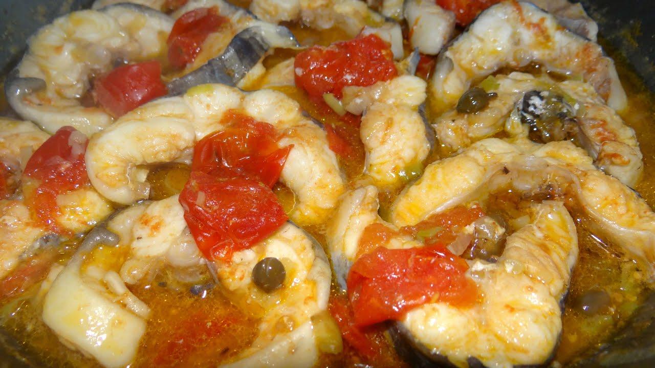 il mare in cucina: cucinare il grongo, primo e secondo - youtube - Come Si Cucina Il Pesce