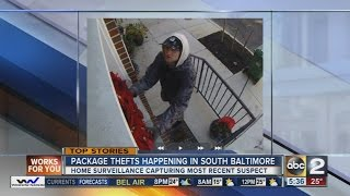 Video Police catch suspect wanted for stealing packages in South Baltimore download MP3, 3GP, MP4, WEBM, AVI, FLV November 2017