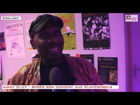 Clayescibels 2013 - Interview de Jimmy Cliff