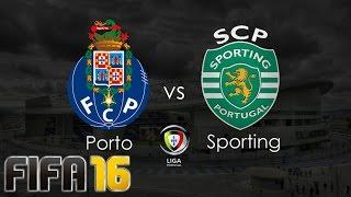 FIFA 16 - Sporting x Porto! Clássico Português!