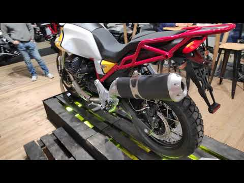 [-] Première française Moto Guzzi V TT - Saint Maur Motos
