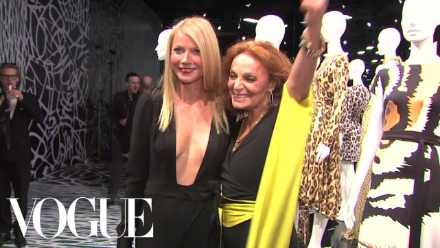 Diane von Furstenberg Opening at LACMA - Chloe Malle on the Red Carpet - Inside Vogue