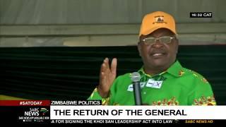Zimbabwe's politics I The return of General Chiwenga