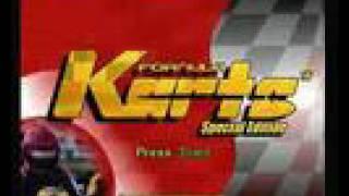 Formula Karts Special Edition Intro Sega Saturn PAL Version