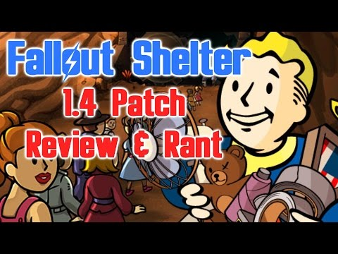 Fallout Shelter: 1.4 Patch Review And Rant