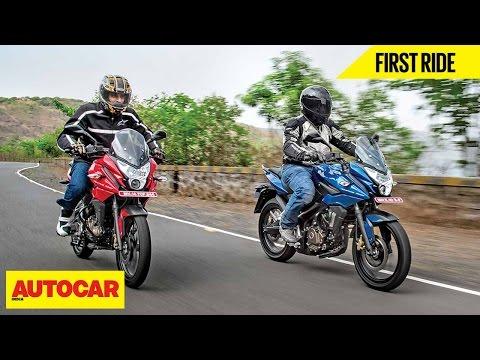 Bajaj Pulsar AS 150 & AS 200   First Ride   Autocar India