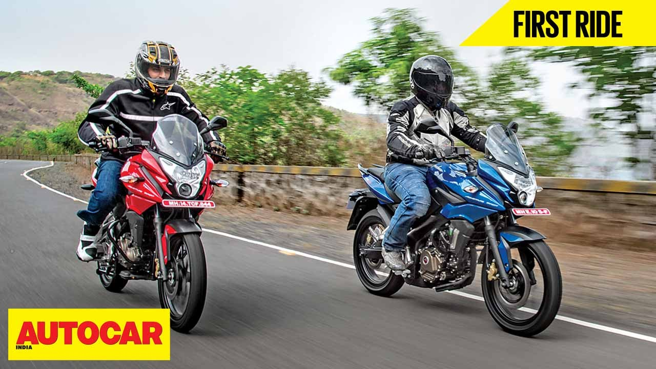 bajaj pulsar as 150 as 200 first ride autocar india youtube