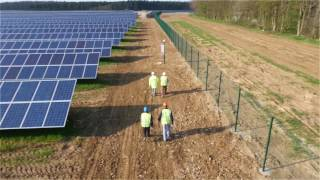 Large Scale Solar Power Plant in the UK